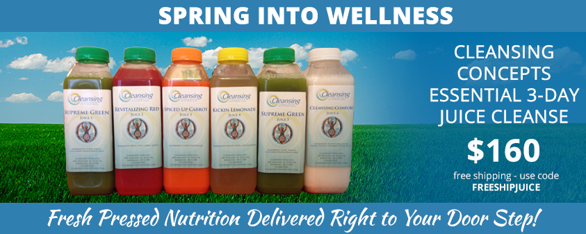 Spring Into Wellness 3-Day Juice Cleanse Special