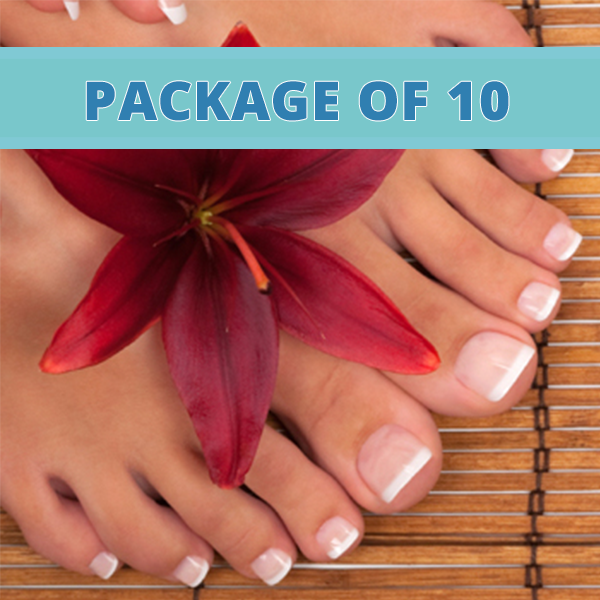 Ionic foot detox package of 10 cleansing concepts Cleansing concepts garden city
