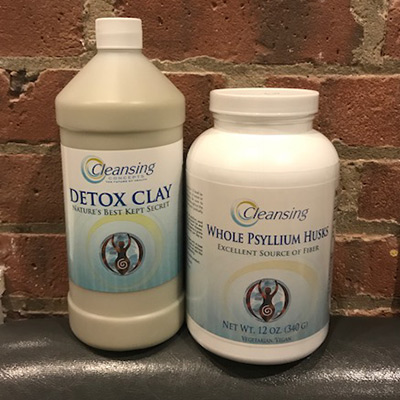 Pre cleanse kit cleansing concepts colon cleansing detox clay fit body wrap garden Cleansing concepts garden city
