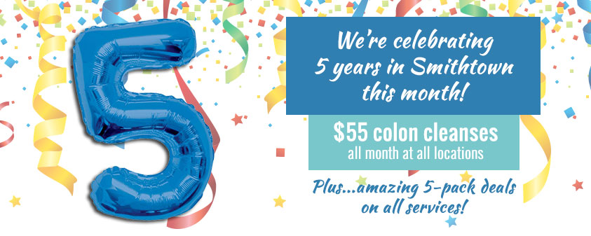 5-Year Anniversary $55 Colon Cleanses