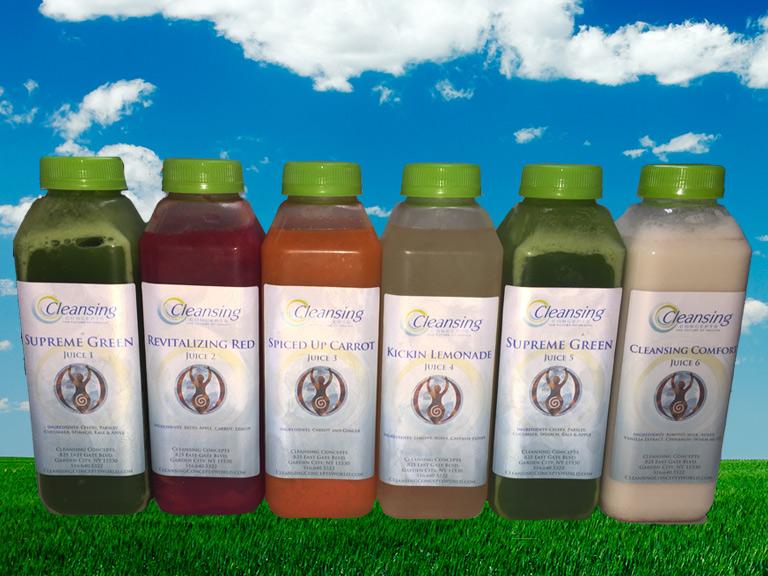 Juice Cleanse | Cleansing Concepts | Colon Cleansing | Detox